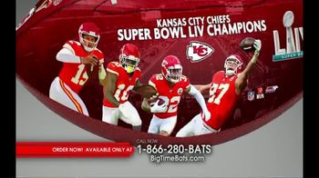 Big Time Bats TV Spot, 'KC Chiefs Super Bowl LIV Champions Art Football' - Thumbnail 4