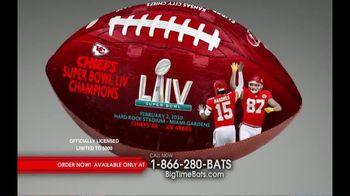 Big Time Bats TV Spot, 'KC Chiefs Super Bowl LIV Champions Art Football' - Thumbnail 5