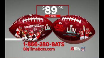 Big Time Bats TV Spot, 'KC Chiefs Super Bowl LIV Champions Art Football' - Thumbnail 6