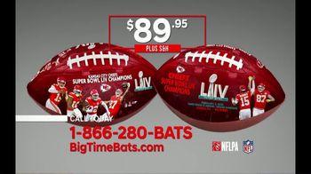 Big Time Bats TV Spot, 'KC Chiefs Super Bowl LIV Champions Art Football' - Thumbnail 7