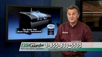 LeafGuard of Nashville Winter Half Off Sale TV Spot, 'Don't Risk a Fall' - Thumbnail 9