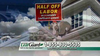 LeafGuard of Nashville Winter Half Off Sale TV Spot, 'Don't Risk a Fall' - Thumbnail 6