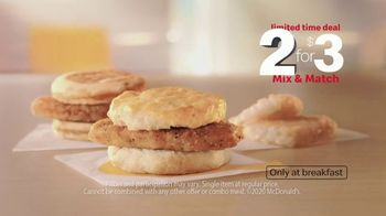 McDonald's 2 for $3 Mix & Match TV Spot, 'Wake Up Breakfast: Morning Motions' - Thumbnail 8