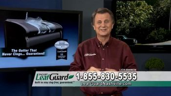 LeafGuard Nashville Winter Half Off Sale TV Spot, 'Half Off Labor' - Thumbnail 8