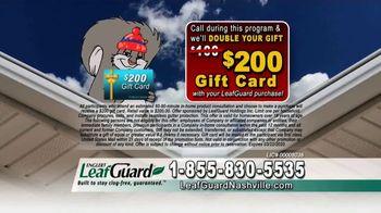 LeafGuard Nashville Winter Half Off Sale TV Spot, 'Half Off Labor' - Thumbnail 6