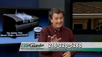 LeafGuard Cleveland Winter Half Off Sale TV Spot, 'Satisfied Customers' - 2 commercial airings