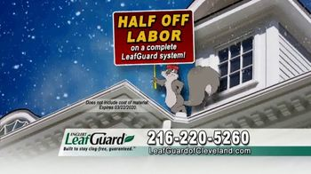 LeafGuard Cleveland Winter Half Off Sale TV Spot, 'Satisfied Customers' - Thumbnail 6