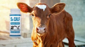 EcoPlanet One Health Sx Calf Oral Electrolyte TV Spot, 'Save Calves, Time and Money'