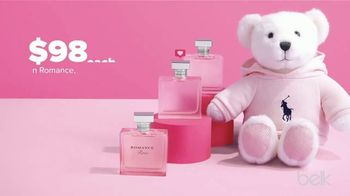 Belk Valentine's Day Sale TV Spot, 'Ralph Lauren Fragrances & Belk Silverworks'