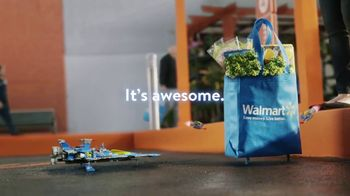 Walmart Grocery Pickup TV Spot, 'Famous Visitors: LEGO' Song by Warrant - Thumbnail 8