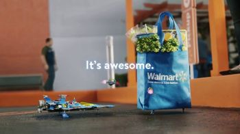Walmart Grocery Pickup TV Spot, 'Famous Visitors: LEGO' Song by Warrant - Thumbnail 9