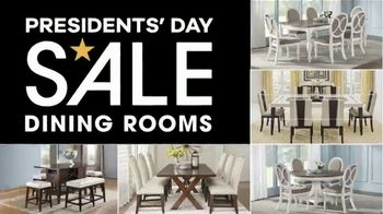 Rooms to Go Presidents' Day Sale TV Spot, 'Living Rooms, Bedrooms & Dining Rooms' - Thumbnail 6