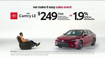 Toyota We Make It Easy Sales Event TV Spot, 'Chair' [T2] - Thumbnail 1