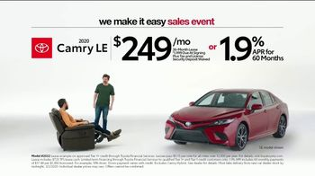 Toyota We Make It Easy Sales Event TV Spot, 'Chair' [T2] - Thumbnail 2