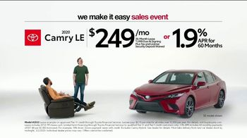Toyota We Make It Easy Sales Event TV Spot, 'Chair' [T2]