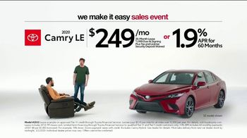 Toyota We Make It Easy Sales Event TV Spot, 'Chair' [T2] - Thumbnail 5