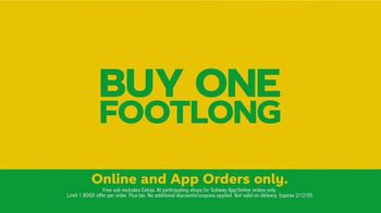 Subway TV Spot, 'Free Footlong' - Thumbnail 9