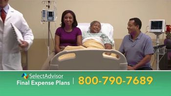 Select Advisor TV Spot, 'Final Expense Plans: Up to $30,000' - Thumbnail 1