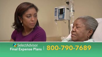 Select Advisor TV Spot, 'Final Expense Plans: Up to $30,000'