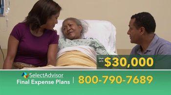 Select Advisor TV Spot, 'Final Expense Plans: Up to $30,000'