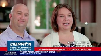 Champion Windows TV Spot, 'Energy Bill: Buy Two, Get One Free'