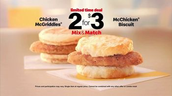 McDonald's 2 for $3 Mix and Match TV Spot, 'Shake Things Up: Chicken' - Thumbnail 8