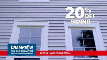 Champion Windows TV Spot, 'Transform Your Home: 20 Percent' - Thumbnail 2