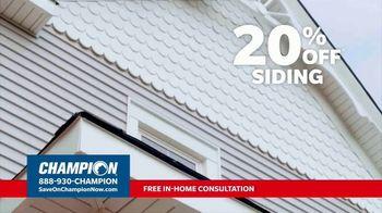 Champion Windows TV Spot, 'Transform Your Home: 20 Percent' - Thumbnail 3