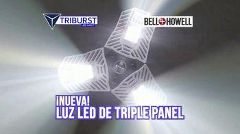Bell + Howell Triburst LED Light TV Spot, 'Ilumina de locura' [Spanish]