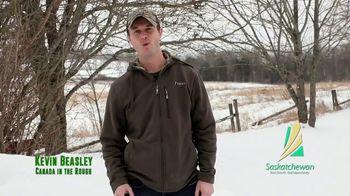 Tourism Saskatchewan TV Spot, 'Great Hunts' Featuring Kevin Beasley - 94 commercial airings