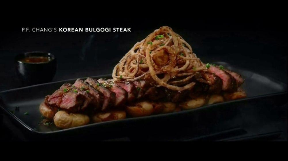 P.F. Changs TV Commercial, 'Korean Bulgogi Steak'
