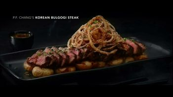 P.F. Changs TV Spot, 'Korean Bulgogi Steak'