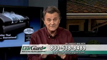 LeafGuard of Oregon Winter Half Off Sale TV Spot, 'Overhang and Trim' - Thumbnail 8