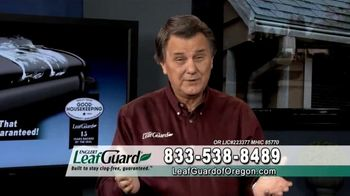 LeafGuard of Oregon Winter Half Off Sale TV Spot, 'Overhang and Trim' - Thumbnail 4