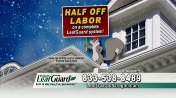 LeafGuard of Oregon Winter Half Off Sale TV Spot, 'Overhang and Trim' - Thumbnail 7