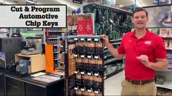 ACE Hardware February Sale TV Spot, 'Automotive Chip Keys'