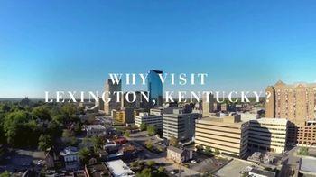 Lexington Visitors Center TV Spot, 'Five Good Reasons' - Thumbnail 1