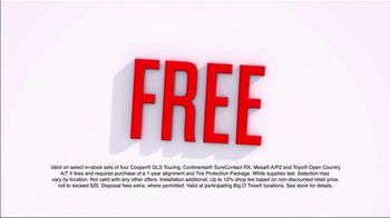 Big O Tires TV Spot, 'Buy Two, Get Two Free' - Thumbnail 2