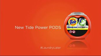 Tide POWER PODS TV Spot, 'Is Now Later: The Masked Singer' Featuring Charlie Day - Thumbnail 2