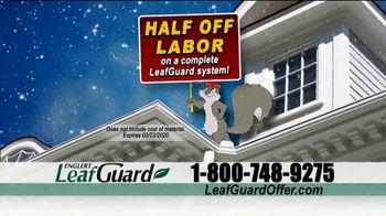 LeafGuard Winter Half Off Sale TV Spot, 'What's In Your Gutters: $25 Gas Card' - Thumbnail 5