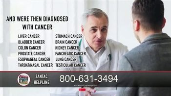 Zantac Helpline TV Spot, 'Zantac Cancer Contaminants'