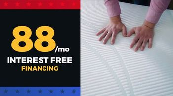 Rooms to Go Presidents Day Mattress Sale TV Spot, 'Tempur-Pedic and Beautyrest'