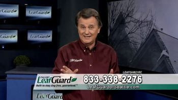 LeafGuard of Seattle Winter Half Off Sale TV Spot, 'Ladder Injuries' - 1 commercial airings