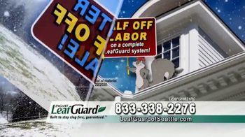 LeafGuard of Seattle Winter Half Off Sale TV Spot, 'Ladder Injuries' - Thumbnail 4