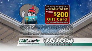LeafGuard of Seattle Winter Half Off Sale TV Spot, 'Ladder Injuries' - Thumbnail 5