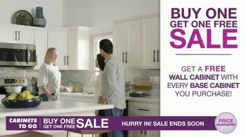 Cabinets To Go Buy One Get One Free Sale TV Spot, 'New Kitchen' - Thumbnail 5
