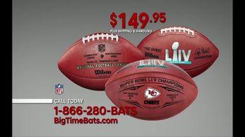 Big Time Bats TV Spot, 'Chiefs Super Bowl LIV Champions Wilson Leather Duke Game Ball' - Thumbnail 4