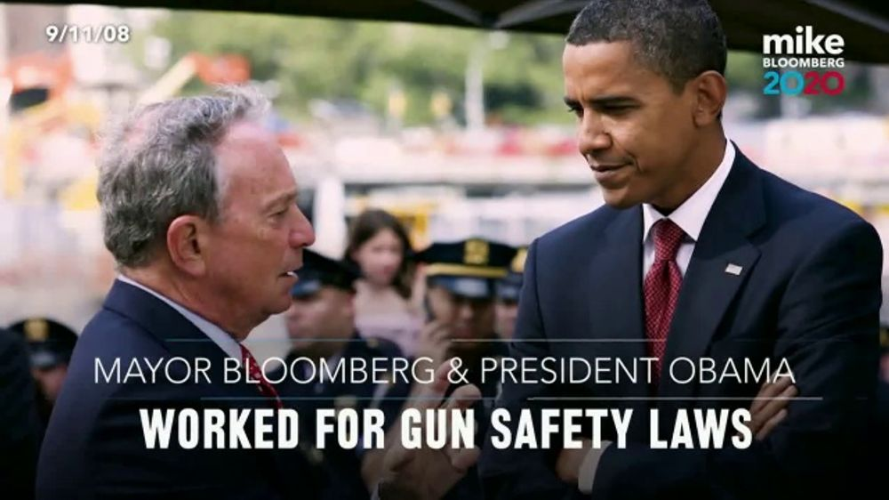 Mike Bloomberg 2020 TV Commercial, 'Leadership in Action'