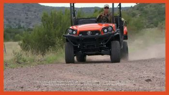 Kubota Sidekick TV Spot, '$2,500 Instant Rebate'