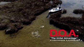 D.O.A. Fishing Lures TV Spot, 'Diverse Soft Plastic' - Thumbnail 8